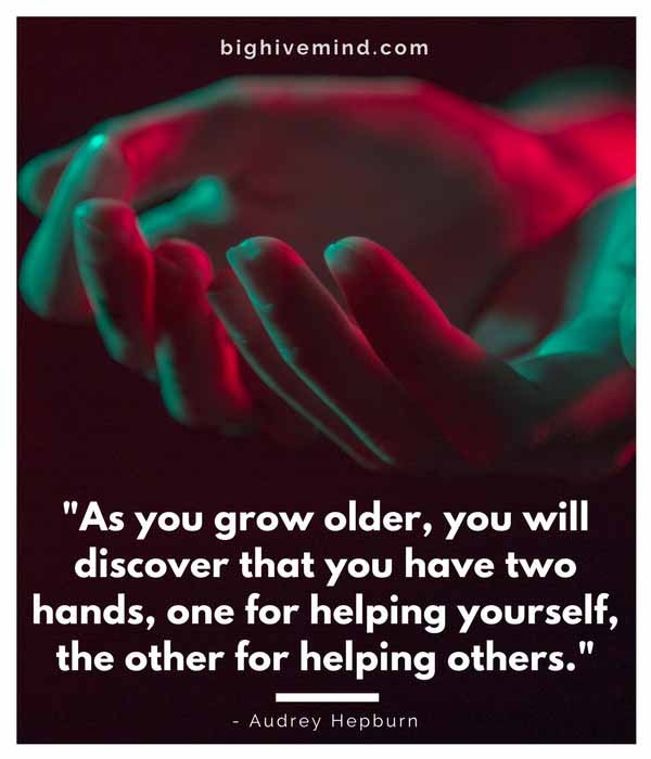 Helping Others Quotes Extraordinary 48 Top Quotes About Helping Others Big Hive Mind