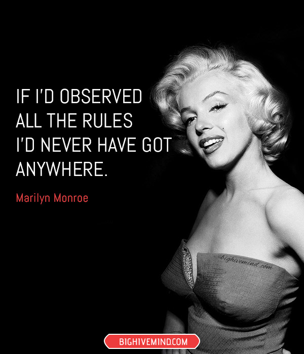 Our Favorite Marilyn Monroe Quotes On Love Life And Everything In
