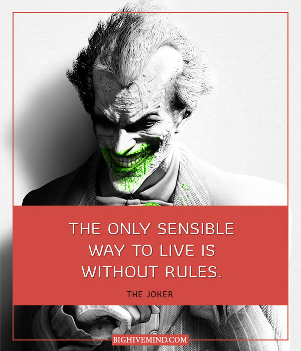 50 Quotes From Batmans Nemesis The Joker Big Hive Mind