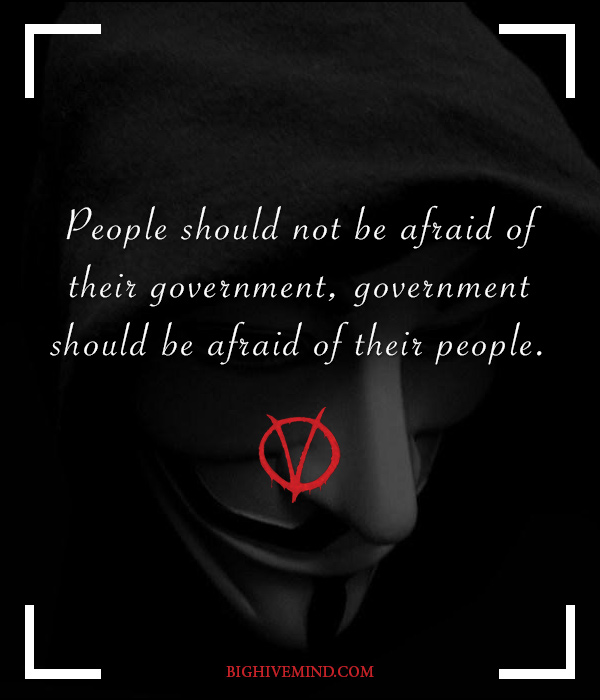 V For Vendetta Quotes People Should Not Be
