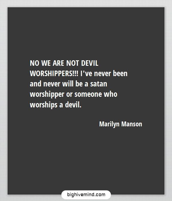 70 Best Marilyn Manson Quotes On Society Love Christianity Big