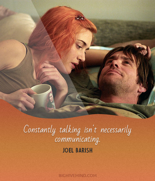 70 Of The Best Eternal Sunshine Of The Spotless Mind Quotes ...