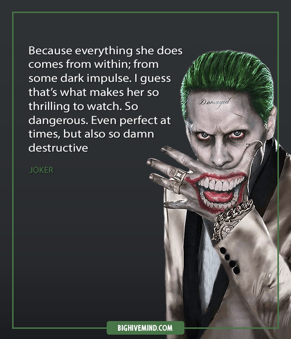 Over 80 Harley Quinn Quotes About Love The Joker And Injustice