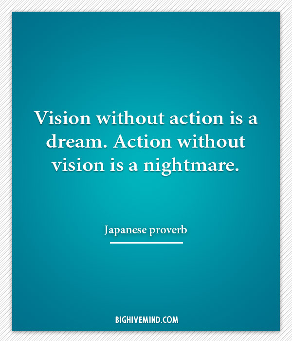 japanese-quotes-vision-without-action-is