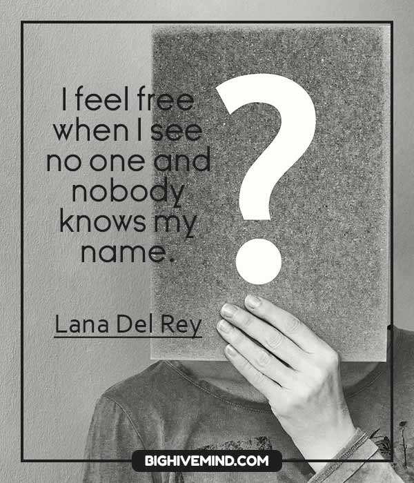 70+ Lana Del Rey Song Quotes About Sadness And Love - Big ...