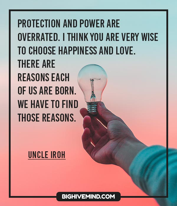 Avatar The Last Airbender The Best Uncle Iroh Quotes Big Hive Mind